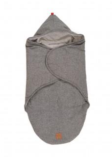 Конверт-одеяло Kaiser Molly Anthracite Melange Серый
